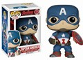 Funko POP Marvel Avengers 2: Capitão América #67 Action Figure Modelo Boneca de 10 cm Personagem do Filme com Presente caixa