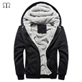 Fashion 2016 winter warm jacket men coat velvet soft shell windbreaker hoodies outwear fleece polo mens jackets and coats homme