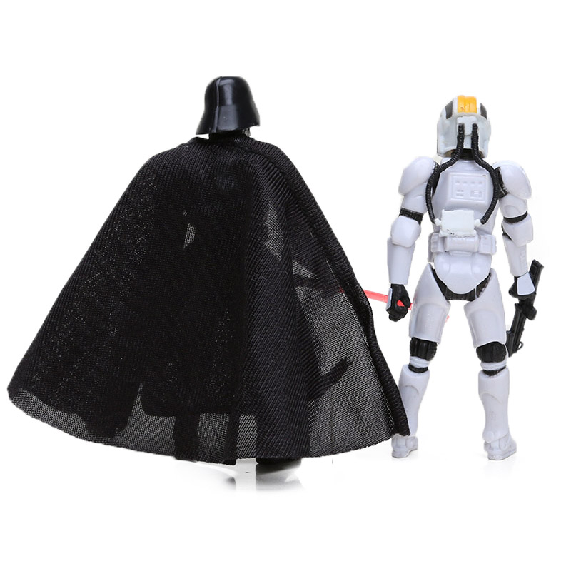 Airborne Clone Trooper Action Figure and Darth Vader Back