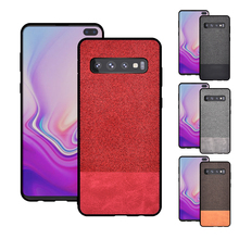 For Samsung Galaxy S10 S10e Case S10+ Cover soft TPU Phone Case PC Hard Back Casing Case for Samsung S10 Plus s 10 S10e s line style protective tpu soft back case for samsung ativ s gt i8750 t899 red