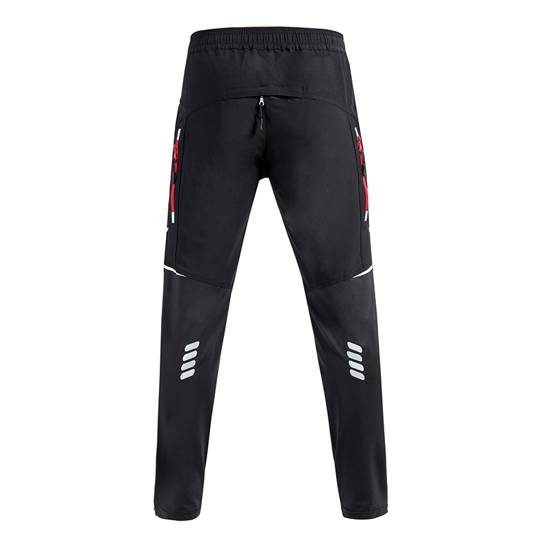 Cycling Pants Men Women Windproof Bicycle Pants Cycle Riding Reflective Clothing Breathable Bike Fitness Quick Dry Trousers in Cycling Pants from Sports Entertainment