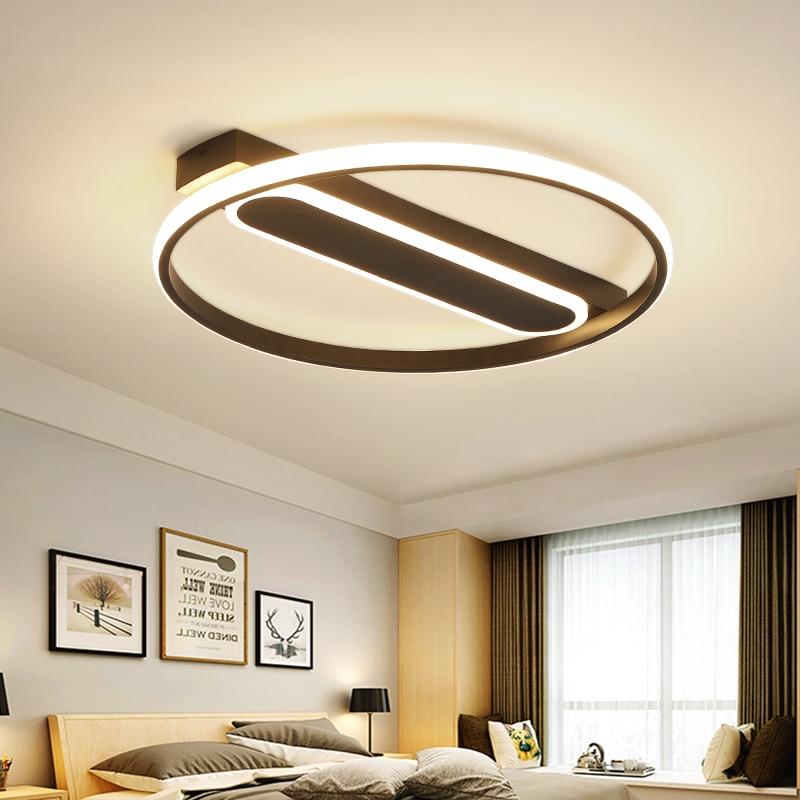 Re De Plafond Moderne Modern Led Ceiling Lights For Living Room Bedroom Luminaire Plafonnier Dimming Lamp