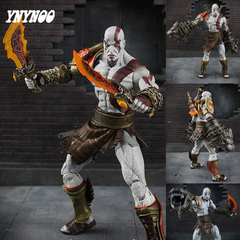 YNYNOO 25cm Action Figure NEW God of Wars 3 Ghost Of Sparta Kratos Ultimate PVC Action & Toy Figure dolls Collectible Models Toy