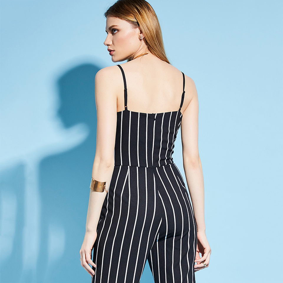 HTB1u6ZJXaagSKJjy0Fgq6ARqFXa7 - Women Stripe Rompers Long Pants Jumpsuit JKP390