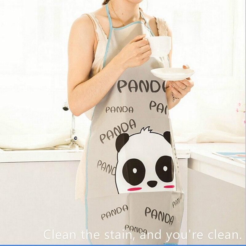 ! Vrouwen Leuke Waterdicht Schort Anti-olie Buste Mouwloze Schort Keuken Huishouden Cleaning Tools & Accessoires Goed Voor Antipyretische En Keel Fopspeen