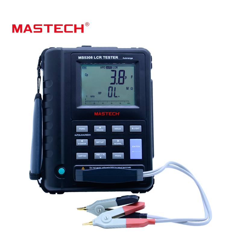 Mastech MS5308 LCR Meter Portable Handheld Auto Range LCR Meter High-Performance 100Khz велосипед stels navigator 310 2016