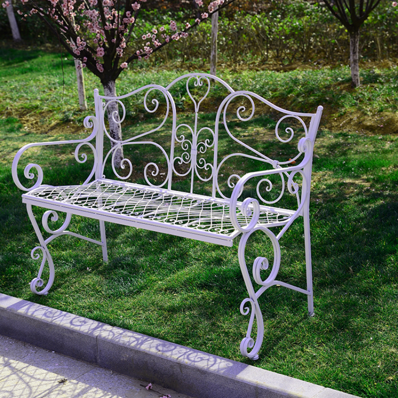 European style double chairs leisure lounge chairs wedding for Outdoor furniture europe