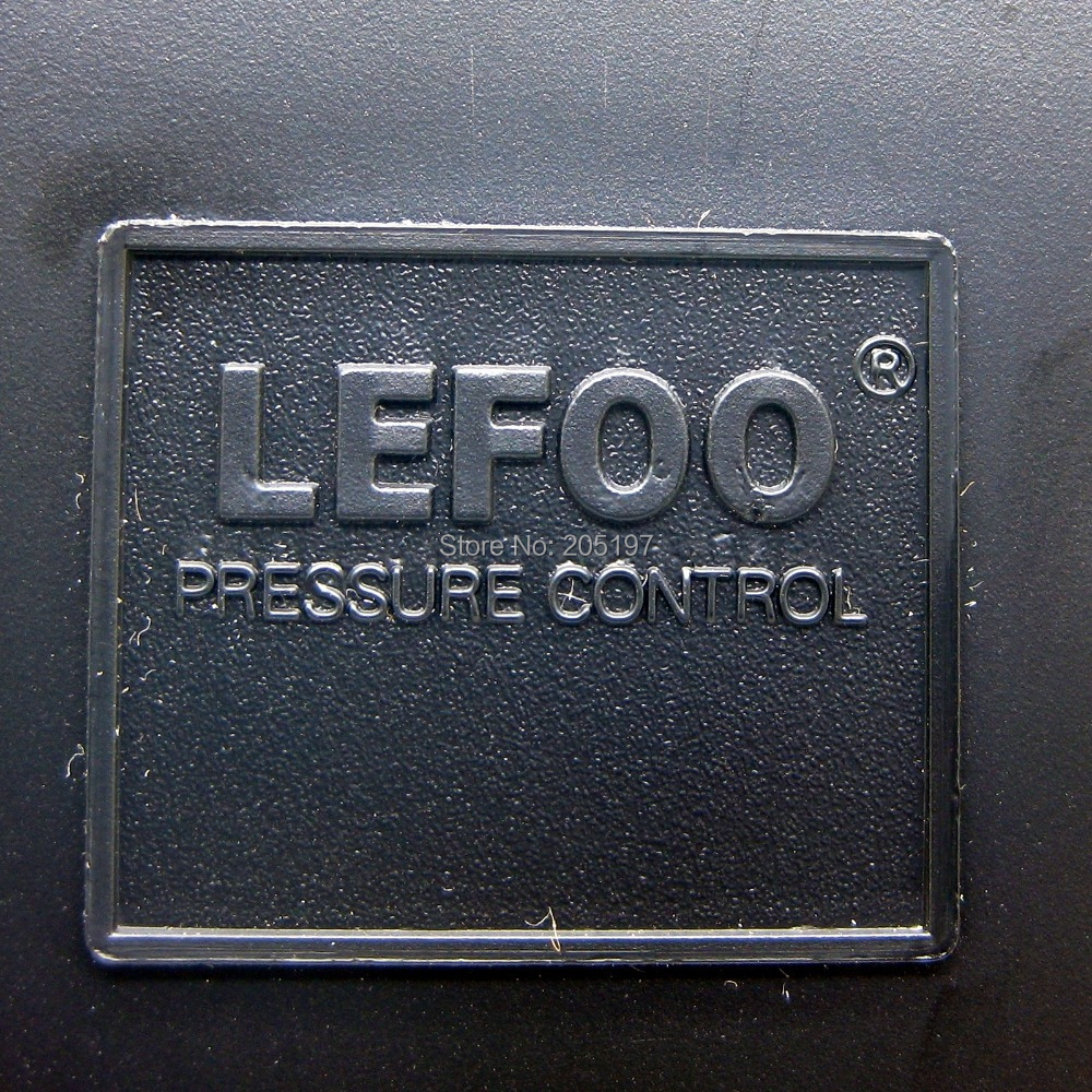 Air Compressor Pressure Switch Lefoo LF10 4H 70/115 PSI 4 ports MIN on