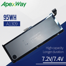 7.4V 95Wh Laptop Battery A1309 For Apple MacBook Pro 17 A1297(2009 Version) MC226
