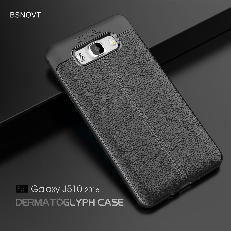 For Samsung Galaxy J5 2016 Case J510 Soft TPU Silicone Anti-knock Cover