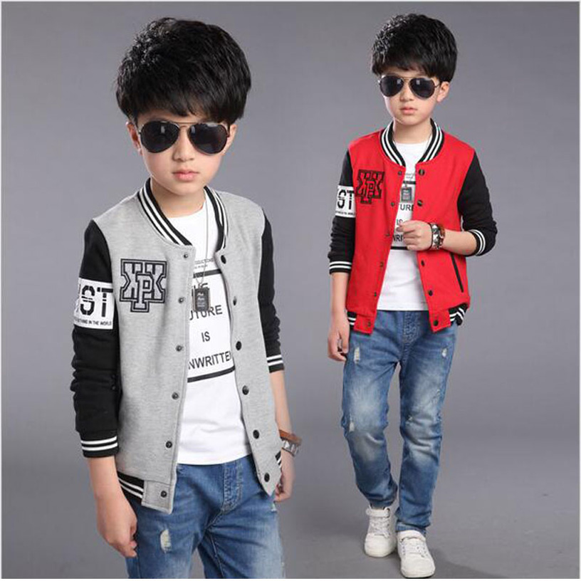 ФОТО New Autumn Boys Jackets And Coats Zipper Fashion Kids Jacket Printed Children Outerwear Coat  Cartoon Boys Baseball Coat