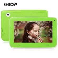 BDF 7 Inch Children Kids Tablet Pc with Silicon Bracket Case Android 4.4 Quad Core 8GB HD Screen Kids EDU Games BabyPAD Tablet