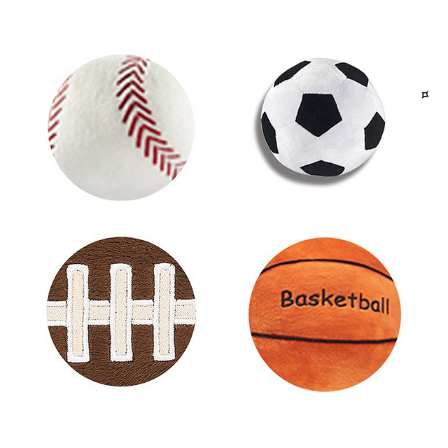 Novelty Stuffed Sport Balls 8