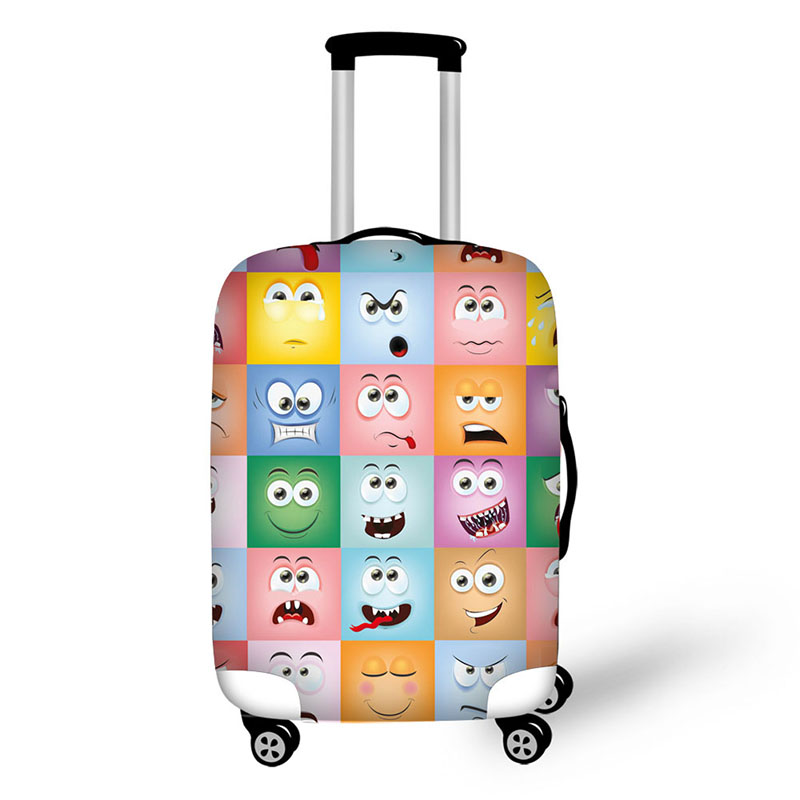 Classic Mini 4WD Toys Car Travel Luggage Cover Suitcase Protector Washable Zipper Baggage Cover