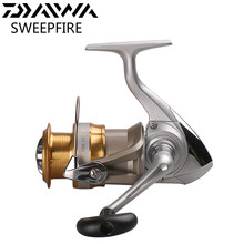 Original DAIWA SWEEPFIRE 2500 3000 Spinning Fishing Reel 2BB 5.3:1 Wheel Pesca Saltwater Lure Reels Carretilha Moulinet Peche