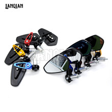 CNC Motorcycle 7/8″ 22mm Handle Bar End Rearview Mirrors Sideview Mirrors For BMW G310R K1600GTL R1200RS/RT 1200R HP4 F800R