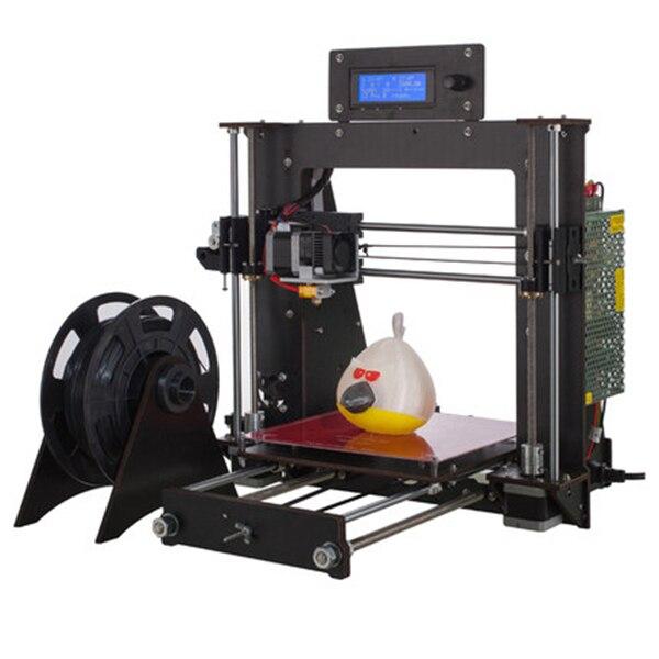 Bon marché imprimante 3D Creality v-slot cadre enfants bricolage 3D imprimante Kit LED affichage grande taille bureau imprimante 3D 180 jour de garantie