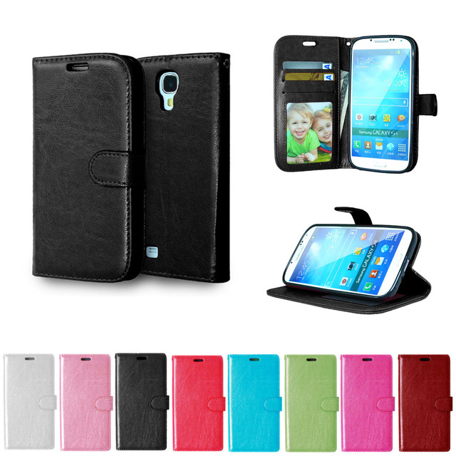Case For Samsung Galaxy S4 S 4 i9500 i9502 Duos i9505 i9506 Flip Leather Phone Cover For GalaxyS4 GT-i9500 GT-i9505 GT-i9502
