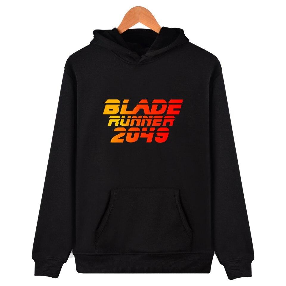 Two Step Blade Runner Cotton Hoodies With Hat Men Women Fashion Hooded Sweatshirts
