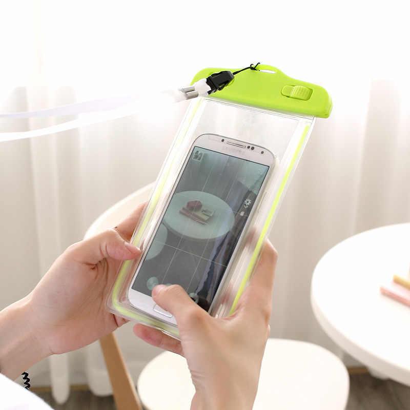 ماء حالة الحقيبة حقيبة مضان الاكسسوارات مسة الأزياء البلاستيكية للماء حالة الهاتف المحمول الذكي تقاسم