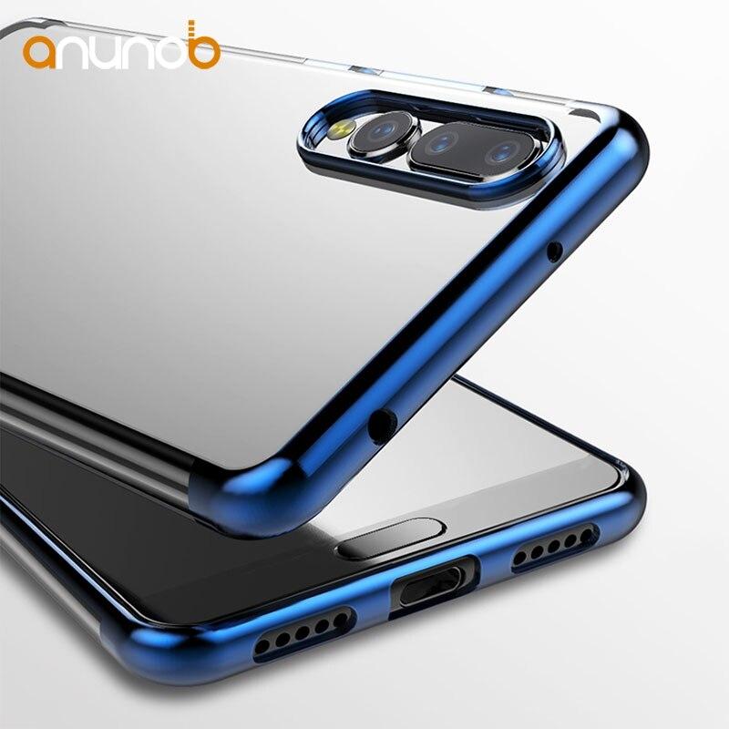 Soft Phone Case For Huawei P20 Lite Cases Silicone Plated Transparent Fundas For Huawei P20 Pro P20 Plus Nova 3ECover Coque Capa