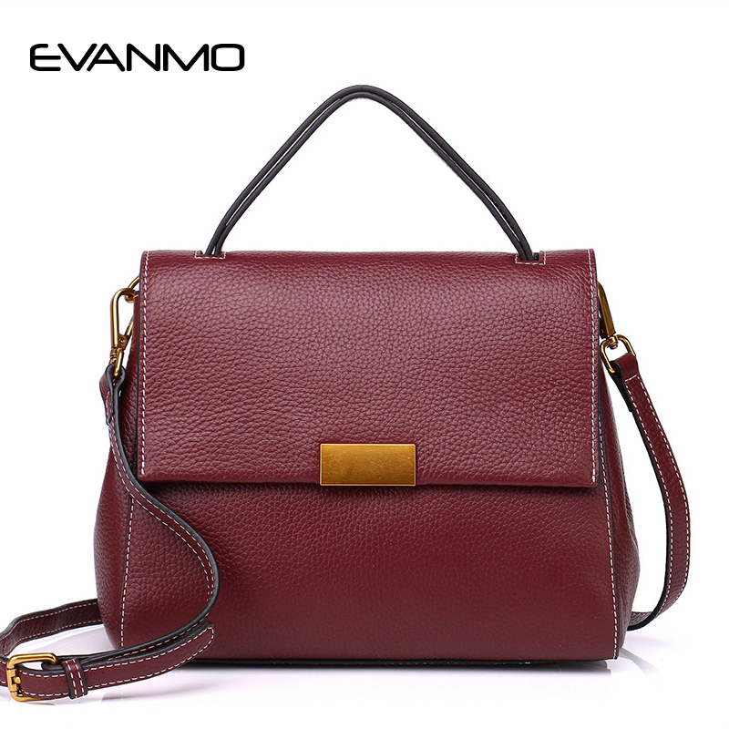 High Quality Genuine Leather Luxury Handbags Women Bags Designer Top Leather Zippers Shoulder Crossbody Bag for Women Sac A Main fashion women lock leather small striped shoulder bags designer high quality chains bag ladies crossbody sac a main handbags