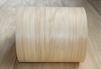 Length 2 5Meters Pcs Thickness 0 52mm Width 18cm Natural Wood Veneer Furniture Cabinet Sticker Decoration