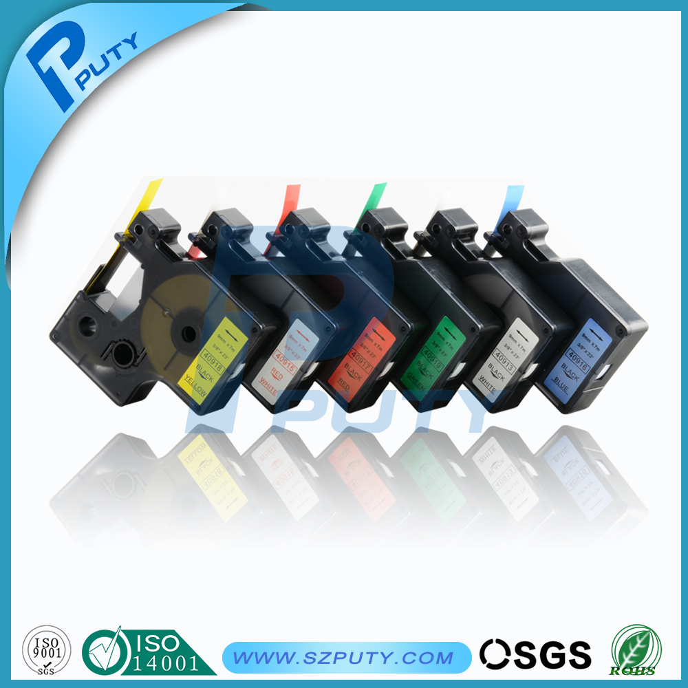 Color printing label maker - Mix Color Dymo D1 Tape 45013 45010 45018 45017 45019 Dymo Label Maker China