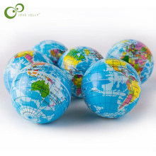 2pcs MiNi toys globe training baby cognitive ability kindergarten educational toys Stress Ball Model(China)