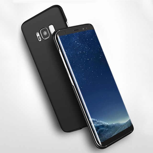 360 Nhựa Đầy Đủ Điện Thoại Trường Hợp Đối Với Samsung Galaxy S8 Cộng Với S3 S4 S5 S6 S7 Cạnh A3 A5 A7 2015 2016 2017 J3 J5 J7 Thủ Bìa