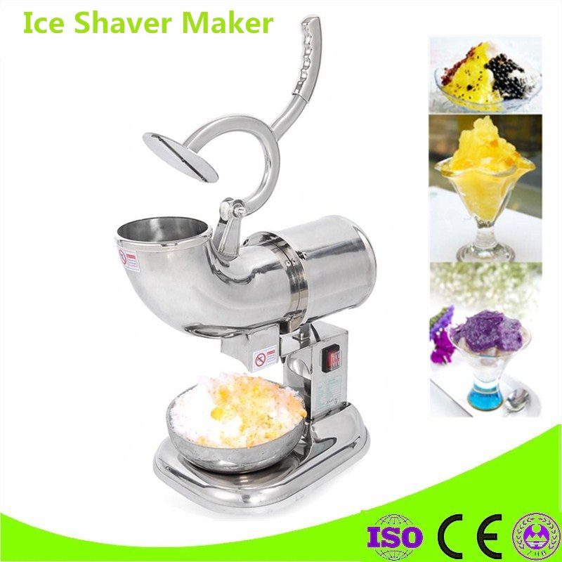 Mini Snow Drink Maker Ice Shaver Block Shaving Machine Ice Crusher Ice Smoothies Snow Cone Machine Kitchen Tools jiqi household snow cone ice crusher fruit juicer mixer ice block making machines kitchen tools maker