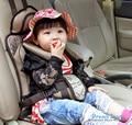 Boa qualidade portátil Assentos de Carro Do Bebê assento infantil assento de carro da segurança da Criança do bebê Proteja Capa para crianças Marrom Auto harness transportadora