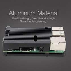 Алюминиевый сплав радиатор защитный чехол металлический охлаждающий Корпус для Raspberry Pi 3 Model B/B +/2B аксессуары