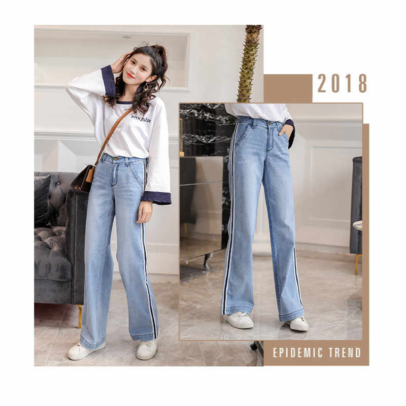 Женские Новые повседневные джинсы брюки мешковатые и удобные Большие размеры