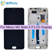 MeiZu M2 Note LCD Display Touch Digitizer Screen Assembly With Frame M2 NOTE LCD For 5