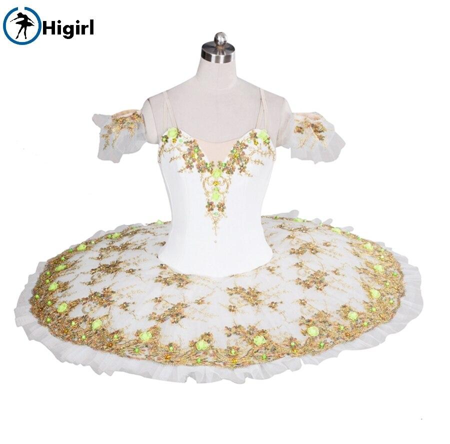 Blanc swan lake ballet tutu pour filles pancake tutu professinal ballet tutu rose classique ballet costumes pour enfants BT8991B