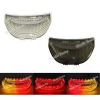 waase For Honda CBR600RR CBR 600 RR 2003 2004 2005 2006 Rear Tail Light Brake Turn Signals Integrated LED Light