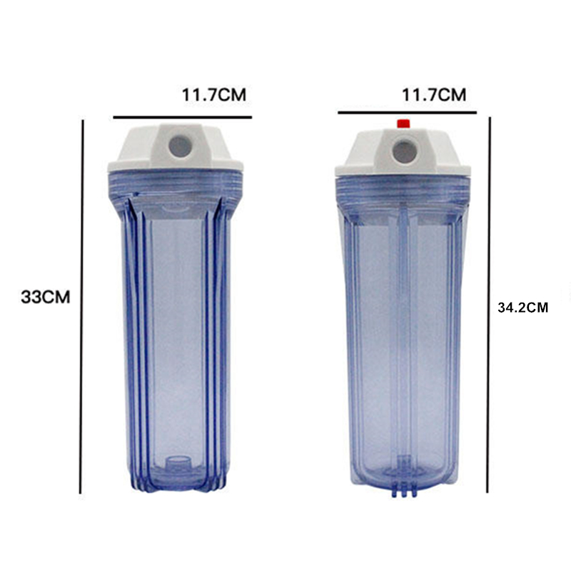 Standard Thicken Pre Filter Filter Bottle Brass Port 3 4 quot 1 2 quot Inlet and Outlet 10 quot Water Filter Housing in Water Filters from Home Appliances
