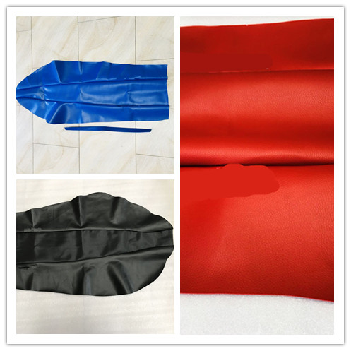 Seat-Covers Polyurethane Motorcycle Yamaha Waterproof Cushion for DT230 Red Soil title=
