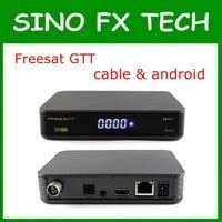 2ピースシンガポールスターハブケーブルボックス&アンドロイド6.0 tvボックスfreesat gtt