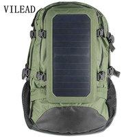 VILEAD 55 36 23cm Solar Energy 6 5W Backpack Large Capacity Energy Saving Environmental Protection Solar