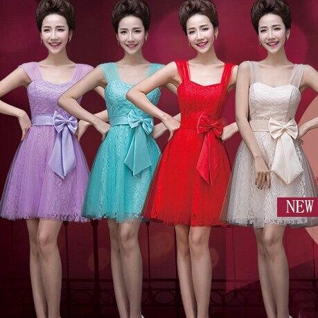 short light blue bridesmaid red bride maid dresses for uk sizes 14 elegant  women knee length 5a4c9657ed4f