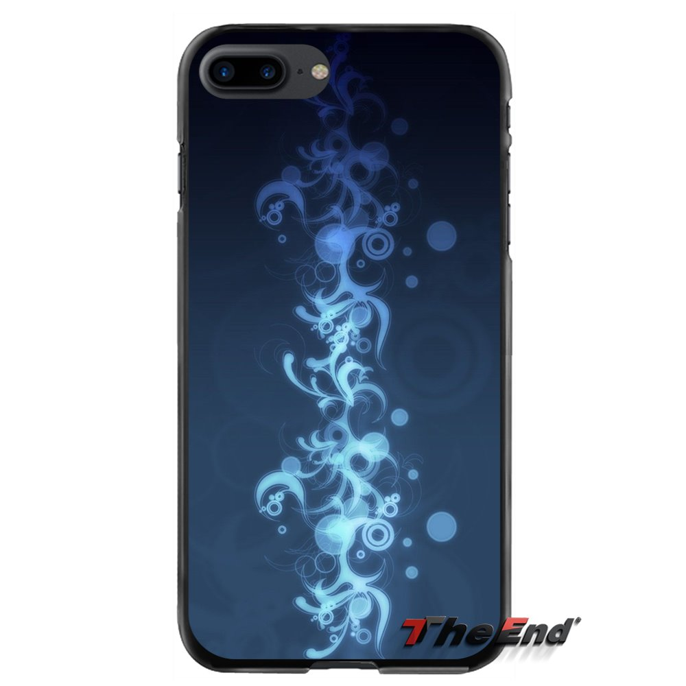 For Apple iPhone 4 4S 5 5S 5C SE 6 6S 7 8 Plus X iPod Touch 4 5 6 Cobalt Blue Accessories Phone Cases Covers
