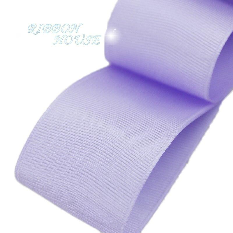 (5 м/лот) 40 мм Лаванда Grosgrain ленты Подарочная упаковка оптом Рождество украшение ленты