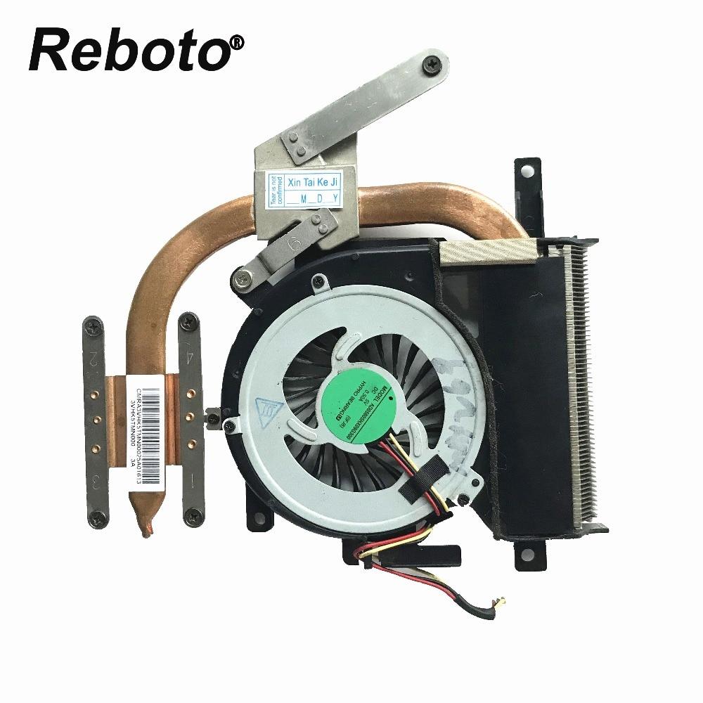 Reboto Original For SONY VAIO SVE15 SVE15127CDS MBX 269 Laptop cooling CPU FAN HEATSINK SVE15127CDS 100