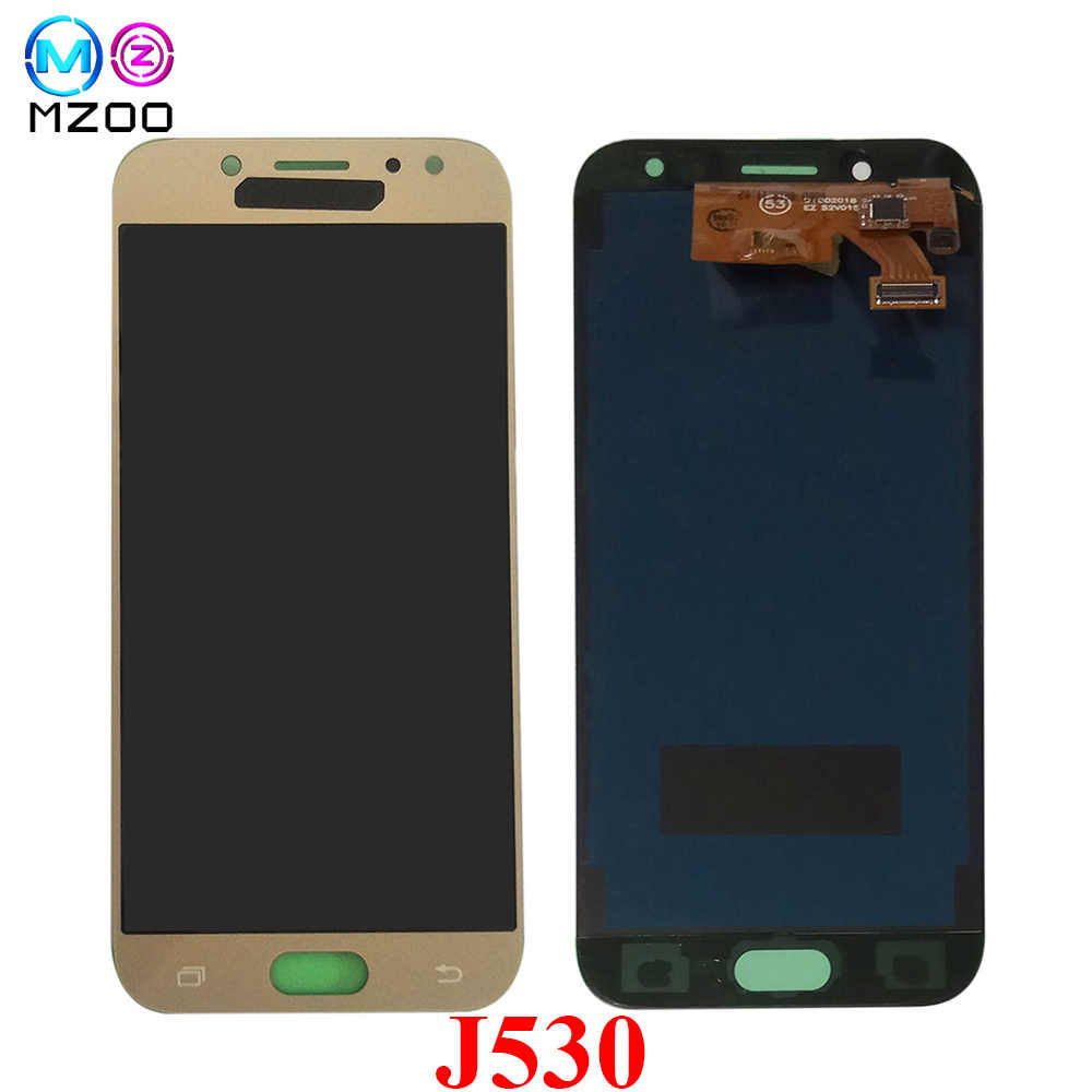 "5.2 ""สำหรับ SAMSUNG GALAXY J530 J530F J530FM SM-J530F J5 Pro 2017 จอแสดงผล LCD Touch Screen Digitizer Pantalla Sensor Assembly tela"