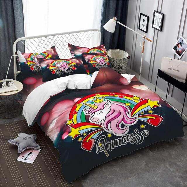 Romantic Unicorn Bedding Set