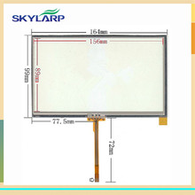 original New 7inch 164mm*99mm For Equipment touch tablet touch screen GPS navigation touchscreen digitizer glass panel