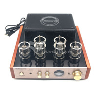 Nobsound MS 10D Tube Amplifier Stereo Audio HiFi Headphone Amp Solid State 25W 2 220V