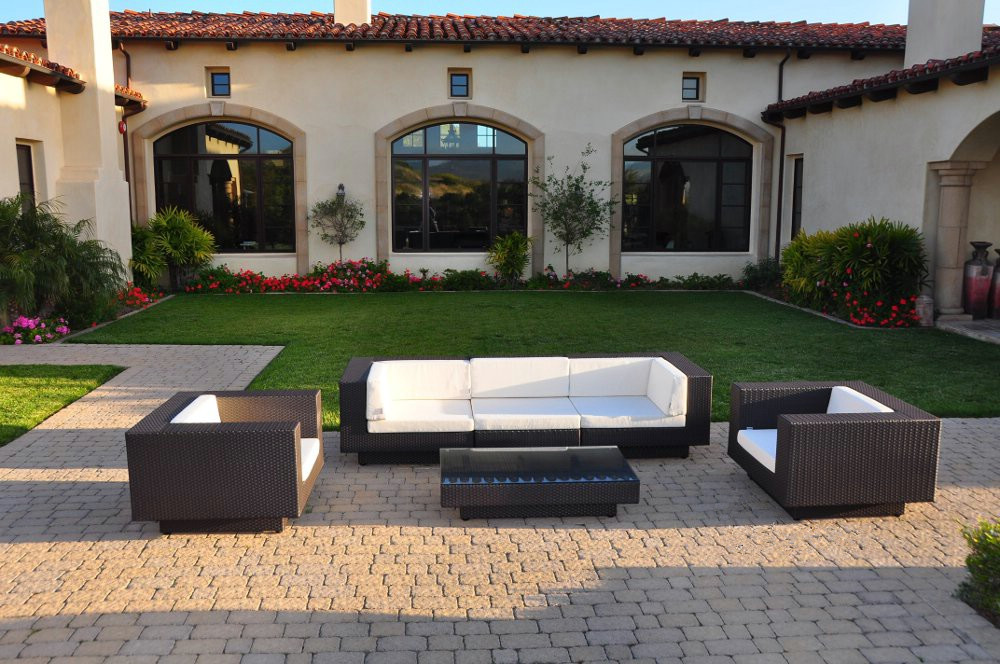 hot sale rattan garden furniture outdoor sofa sets modern couches for sale